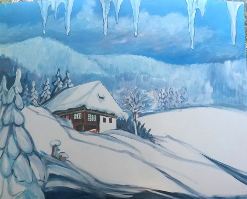 Fensterdeko Hansmayerhof