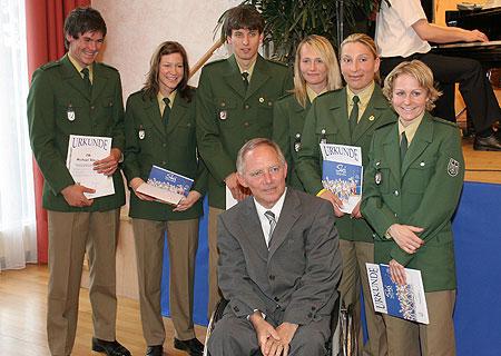 Innenminister Schäuble