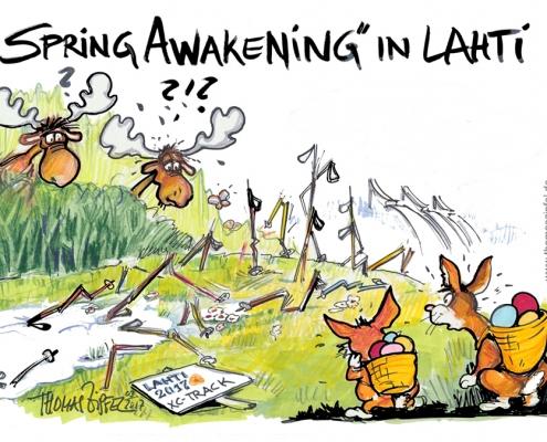 Spring Awakening in Lahti