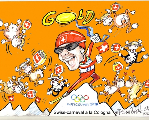 Swiss Carneval A La Cologna