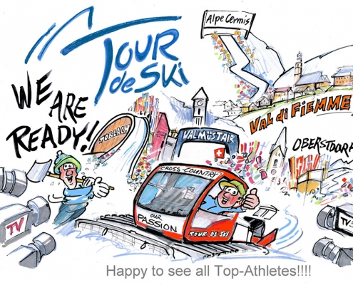 Tour de Ski Opening