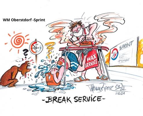 WM Oberstdorf Sprint