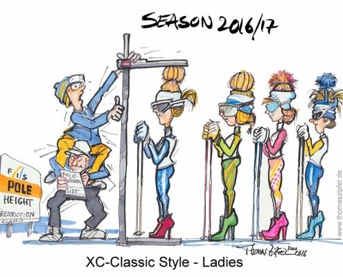 XC Classic Style Ladies