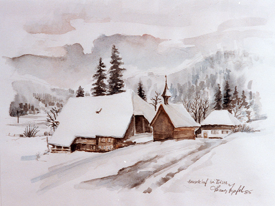 Aquarell Thomas Zipfel