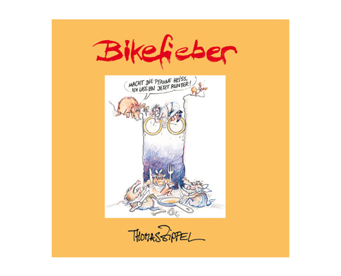 Cartoonbuch Bikefieber