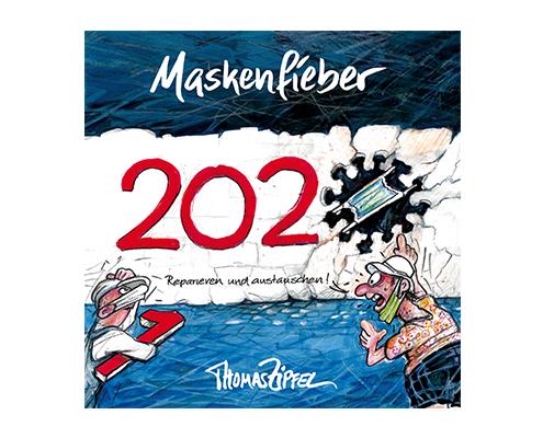 Cartoonbuch Maskenfieber