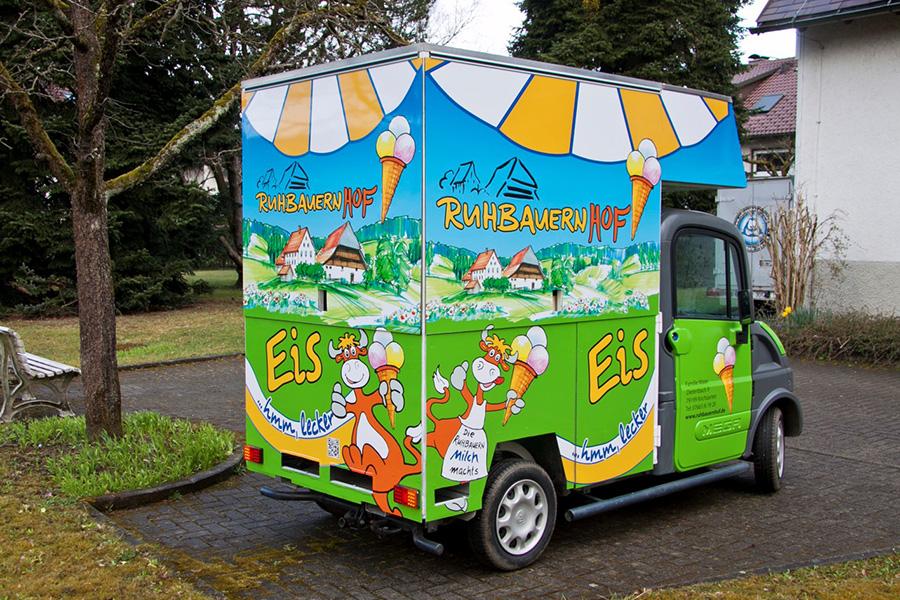 Ruhbauernhof Eiswagen